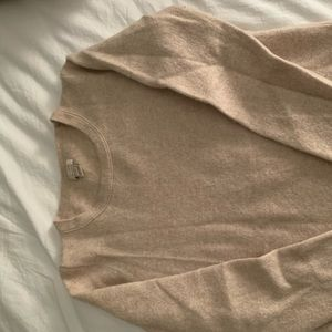 Cashmere crew neck sweater jcrew